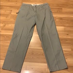 Columbia taupe trouser size 36X34 GUC